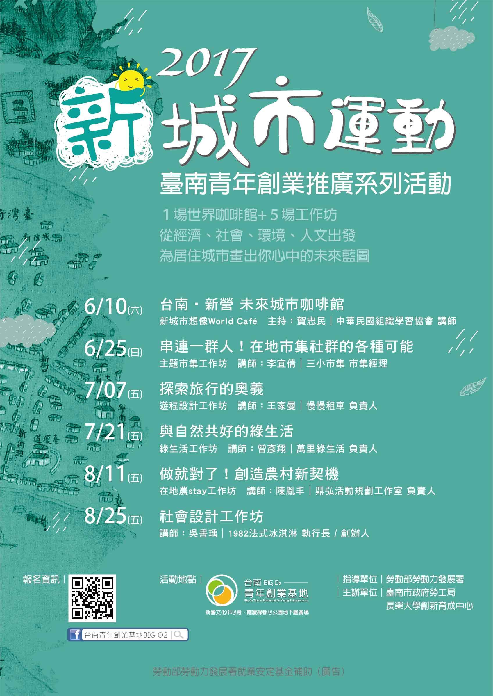 新城市運動海報